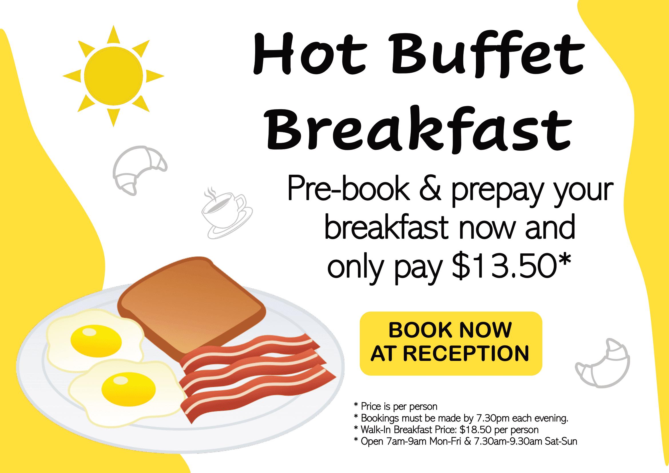 Hot Breakfast Special